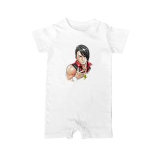 丸藤 Baby rompers