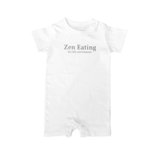 ZenEatingオリジナルグッズ Baby rompers