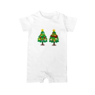 CT88 林さんのクリスマスB Baby rompers