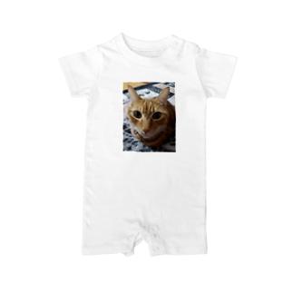 ネコ Baby rompers