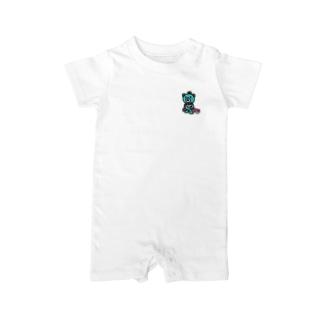 BASEfor  Bear Green Baby rompers