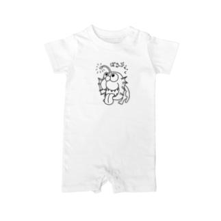 恐竜シリーズ(バルブドック) Baby rompers
