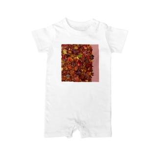 「秋のぽぉけっと。」AZTB07 Baby rompers