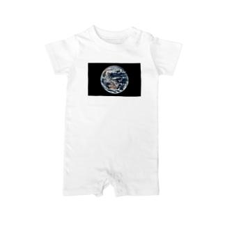 地球 Earth 宇宙のふしぎ Baby rompers