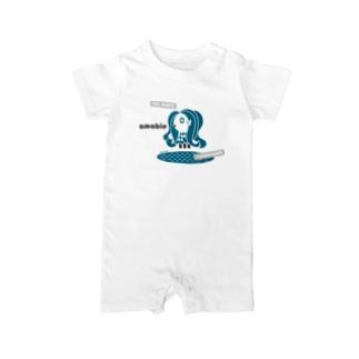 アマビエ 2021 Baby rompers
