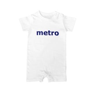 メトロ 大都市 Baby rompers