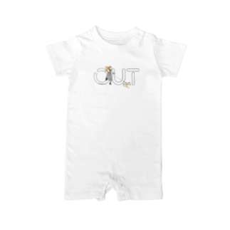 OUT x JMS-Thank chu... Baby rompers
