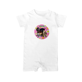 mntoつくね仲間入りver Baby rompers
