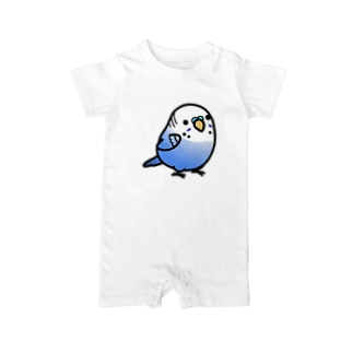 Chubby Bird セキセイインコ Baby rompers