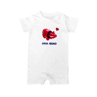 AKA-BEKO Baby rompers