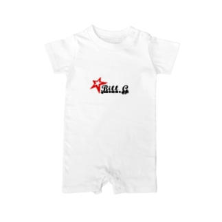 Bill-G オリジナルグッズ Baby rompers