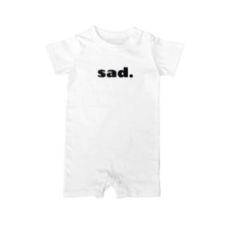 sad. Baby rompers