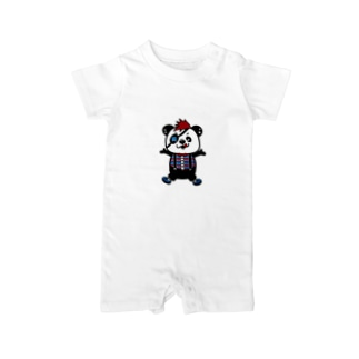 PANDAMONTA RED Baby rompers