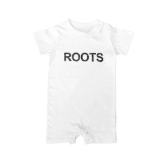 ROOTS公式 Baby rompers