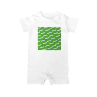 Green Baby rompers