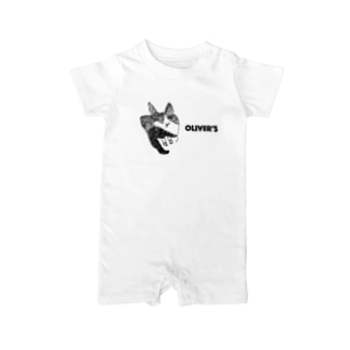 Oliver's cat Baby rompers