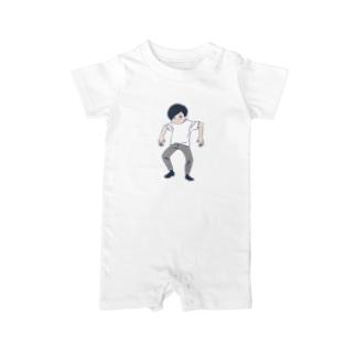 無気力男性(27) Baby rompers