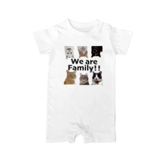 We are family Baby rompers