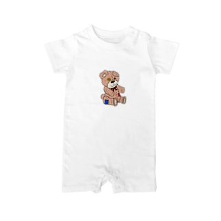 shyness.bear Baby rompers