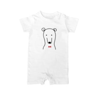 普通なクマさん Baby rompers