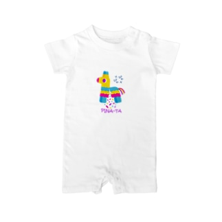 pina~taピニャータ Baby rompers