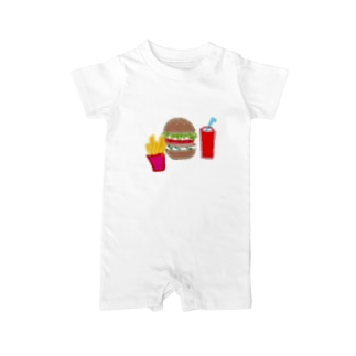 ハンバーガーセット Baby rompers