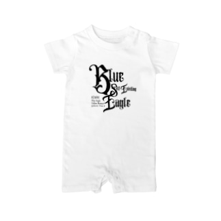 KIN95青い自己存在の鷲 Baby Rompers
