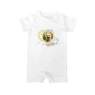 犬の俊介(ベイビーロンパース) Baby rompers