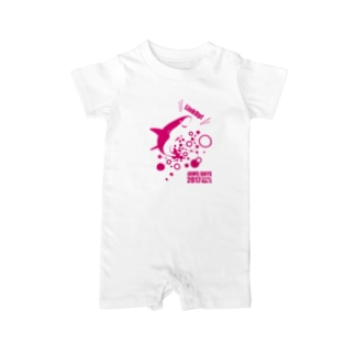 JAWS DAYS 2017 LinkUp PINK Baby rompers
