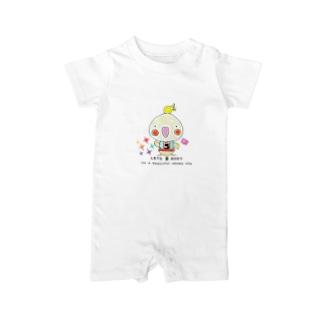 LETS 美 BODY オカメインコ❤ Baby rompers