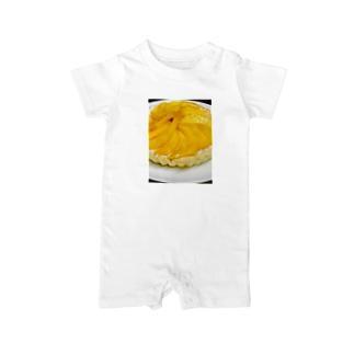 マンゴータルト(ヨーグルトクリーム) Baby rompers