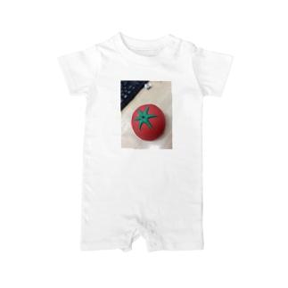 にせトマトふたたび Baby rompers