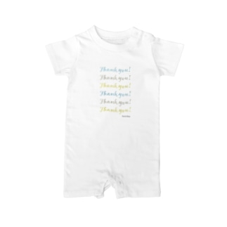 Thankyou!-003 Baby rompers