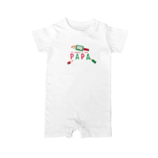 CT157 ちびた色鉛筆*PAPA*A Baby Rompers