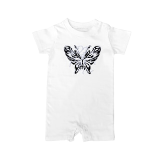 REMENTAL Butterfly Baby rompers