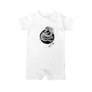Japanese Dragon Mono Baby rompers