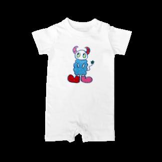 space a:kumoのa:kumoシリーズ Baby rompers