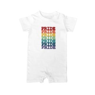 Rainbow Pride Baby rompers