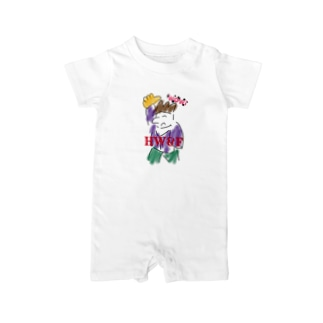 wow☆funny young. HW&F Baby rompers