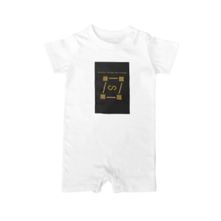 【Where there is no struggle, there is no strength.】  Baby rompers