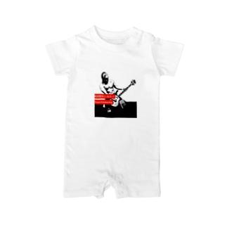 谷嵜なおきプロレスTシャツ等々 Baby Rompers