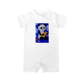 PANDA No.2 Baby rompers