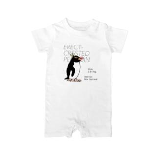 空とぶペンギン舎のマユダチペンギン Baby rompers