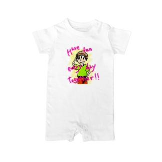 Have fun every day together! Baby rompers