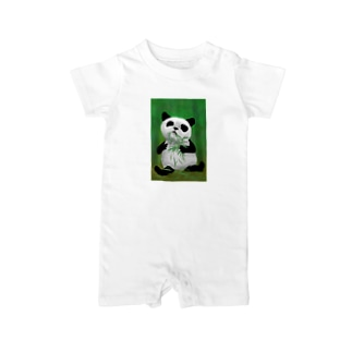 PANDA No.4 Baby rompers