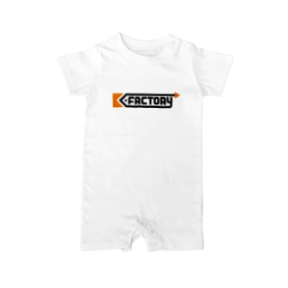 kimchinのK-FACTORY ロゴ Baby rompers