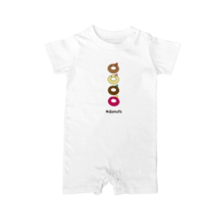 #donuts Baby rompers