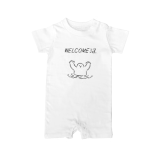 WELCOME沼 Baby rompers