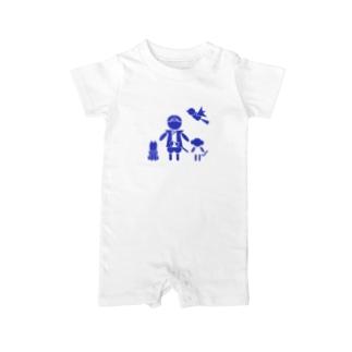MOMOTARO Baby rompers
