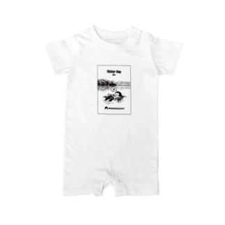 0801「#水の日 」 Baby Rompers